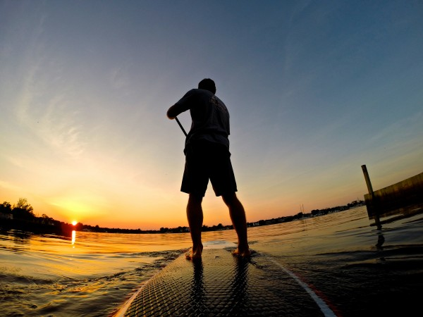 Paddleboarding Connetquot River