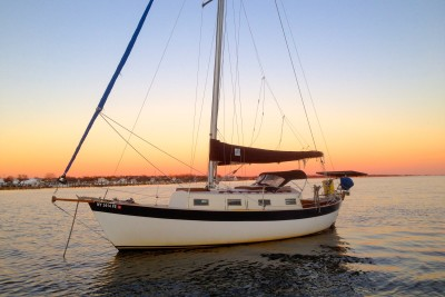 Tula Is A Classic Double-Ender With A Full Keel