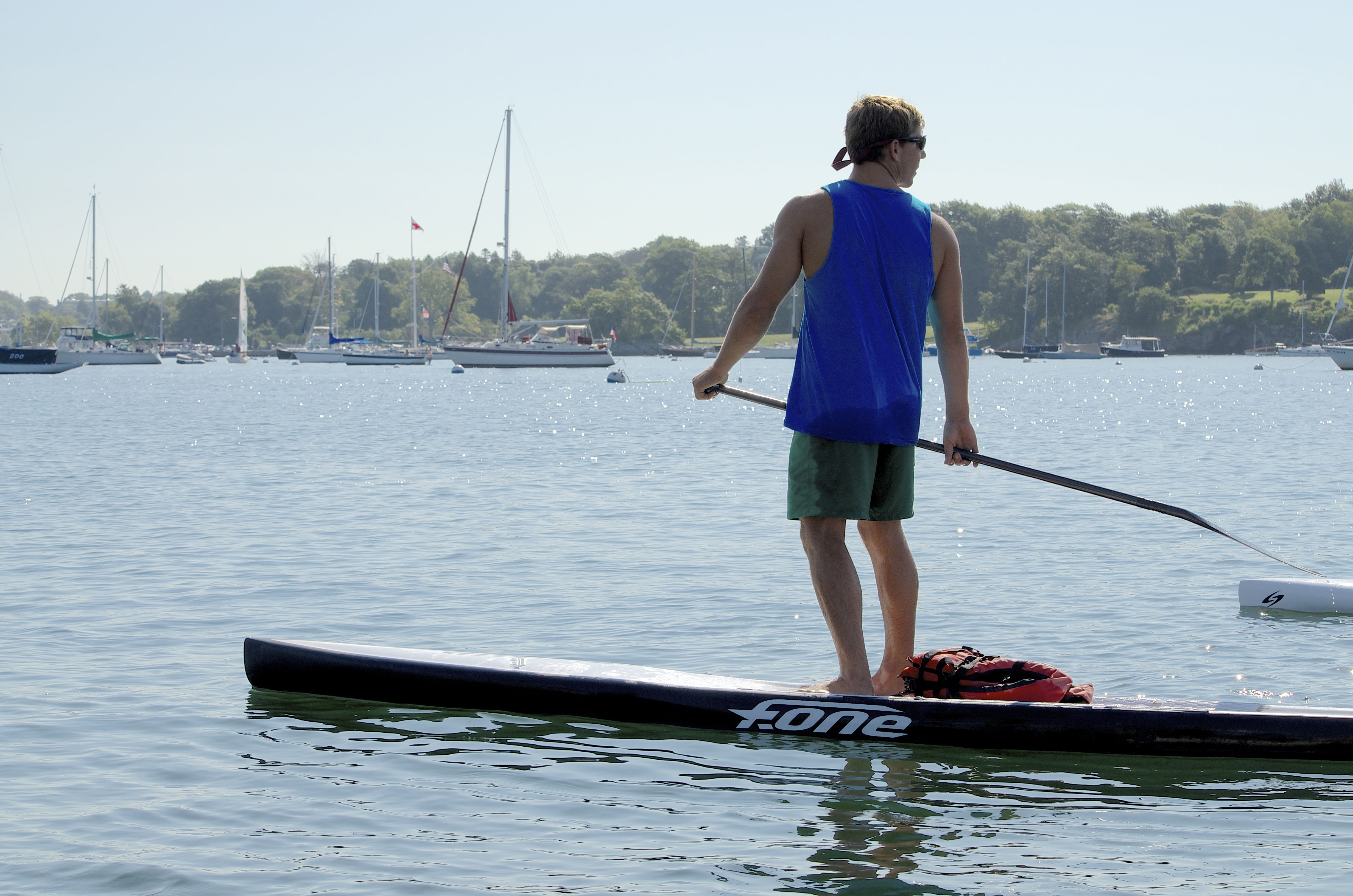 Rose Island Battle Of The Bay Paddleboard Race