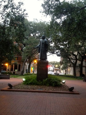 Historic Savannah Statue