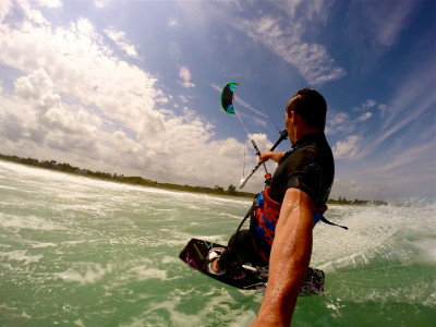 Kiteboarding To Sailing