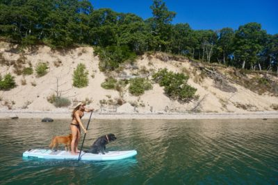 Inflatable SUP's are great gifts for boaters!